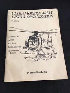 Ultra Modern Army Lists and Organisations Volume 2