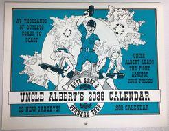 Uncle Albert's Auto Stop & Gunnery Shop 2038 Calendar