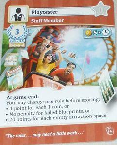Unfair: Playtester