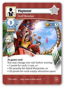 Unfair: Playtester Promo Card