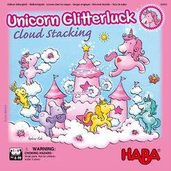 Unicorn Glitterluck: Cloud Stacking