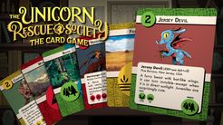 Unicorn Rescue Society: The Card Game
