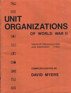 Unit Organizations of World War II