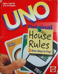 UNO House Rules