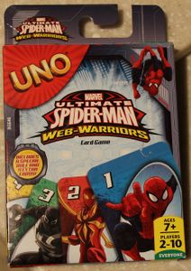 UNO: Marvel Ultimate Spider-man Web-Warriors Card Game