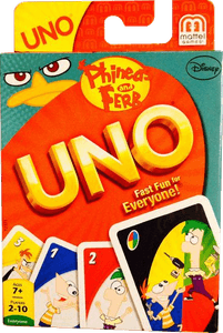Uno: Phineas and Ferb