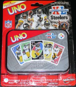 Uno: Super Bowl XL Steelers Special Edition
