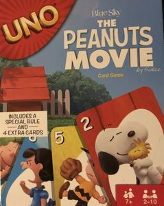 UNO: The Peanuts Movie Card Game