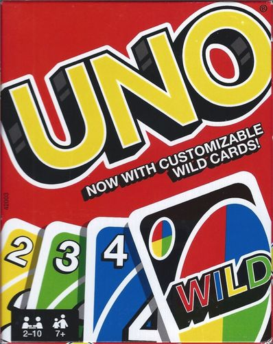 UNO: With Customizable Wild Cards