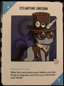 Unstable Unicorns: Steampunk Unicorn Promo Card