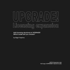 UPGRADE! Licensing expansion