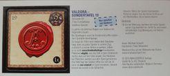 Valdora: Special board 19