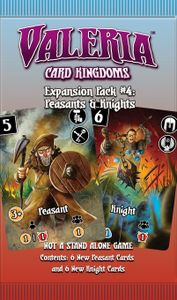 Valeria: Card Kingdoms – Expansion Pack #04: Peasants & Knights