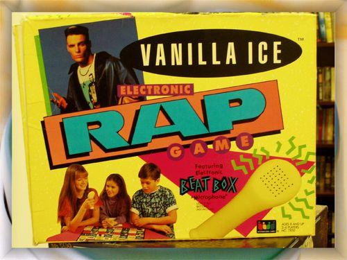 Vanilla Ice Electronic RAP Game