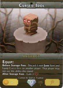 Vault Wars: Cursed Idol Promo Card