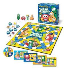VeggieTales Seek & Match Board Game
