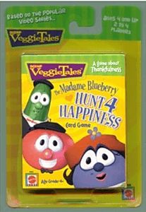 VeggieTales: The Madame Blueberry Hunt 4 Happiness Card Game