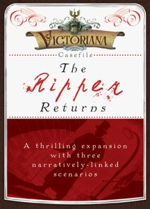 Victoriana: Casefile – The Ripper Returns