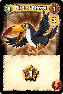 Vikings Gone Wild: Bird of Bifröst Promo Card