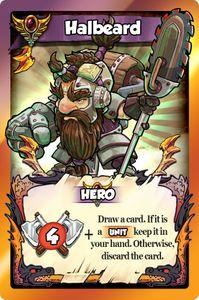 Vikings Gone Wild: Halbeard Promo Card