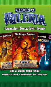 Villages of Valeria: Events