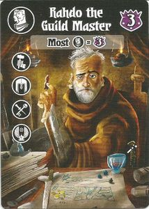 Villages of Valeria: Rahdo the Guild Master Promo Card