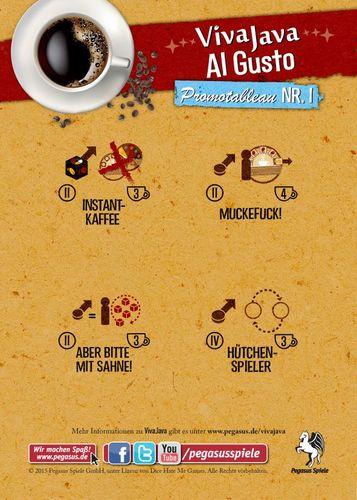 VivaJava: The Coffee Game: The Dice Game: Al Gusto