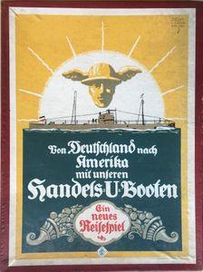 Von Deutschland nach Amerika mit unseren Handels-U-Booten