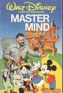 Walt Disney Character Master Mind Game