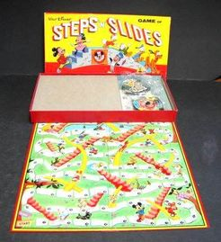Walt Disney Steps N Slides Game