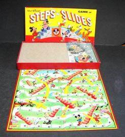 Walt Disney Steps N Slides Game
