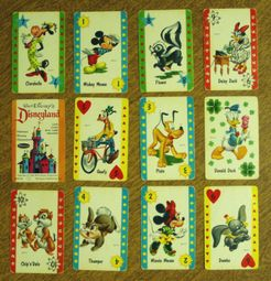 Walt Disney's Disneyland Card Game