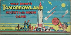 Walt Disney's Tomorrowland Rocket to the Moon
