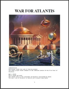 War for Atlantis