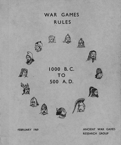 War Games Rules 1000 BC to 500 AD