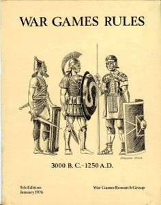 War Games Rules 3000 BC to 1250 AD