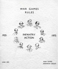 War Games Rules: Infantry Action – 1925-1975