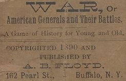 War, or American Generals and their Battles