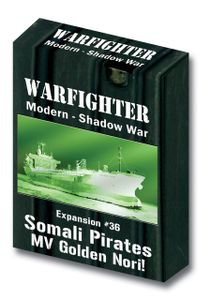 Warfighter: Expansion #36 – Somali Pirate: MV Golden Nori