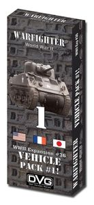 Warfighter: WWII Expansion #36 – Vehicle Pack #1