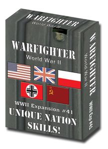Warfighter: WWII Expansion #41 – Unique Nation Skills
