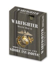 Warfighter: WWII Expansion #43 – Shore Invasions