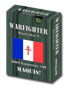 Warfighter: WWII Expansion #46 – Maquis