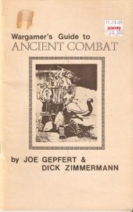 Wargamer's Guide To Ancient Combat