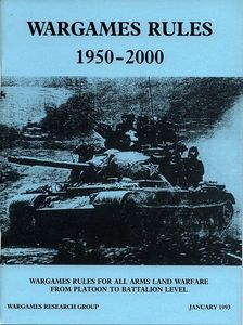 Wargames Rules 1950-2000