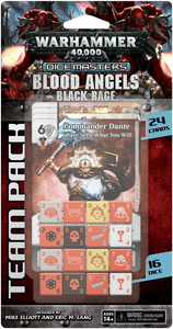 Warhammer 40,000 Dice Masters: Blood Angels – Black Rage Team Pack