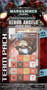 Warhammer 40,000 Dice Masters: Blood Angels – Black Rage Team Pack