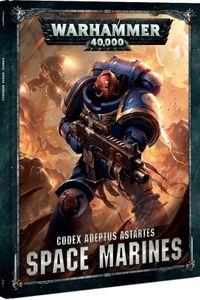 Warhammer 40,000 (Eighth Edition): Codex Adeptus Astartes – Space Marines