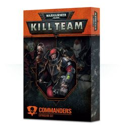 Warhammer 40,000: Kill Team – Commanders Expansion Set