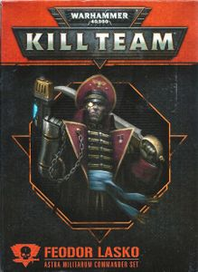 Warhammer 40,000: Kill Team – Feodor Lasko: Astra Militarum Commander Set